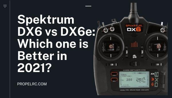 Spektrum DX6 vs DX6e